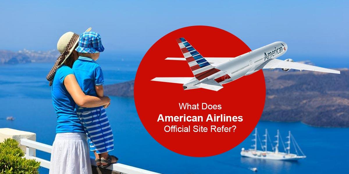 American Airways site
