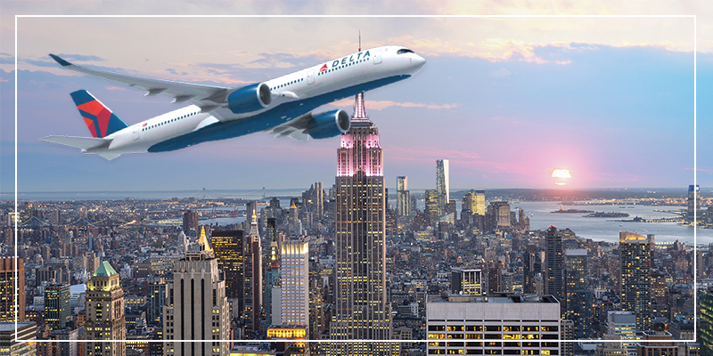 Delta Flights To NewYork