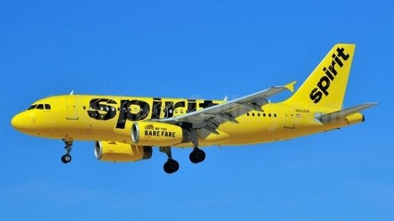 Spirit Flights To NewYork