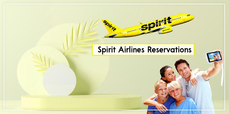 Spirit Airlnes-Reservations