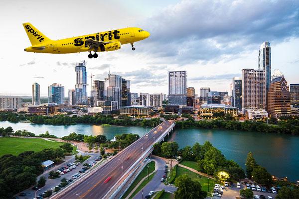 Spirit Airlines to Houston